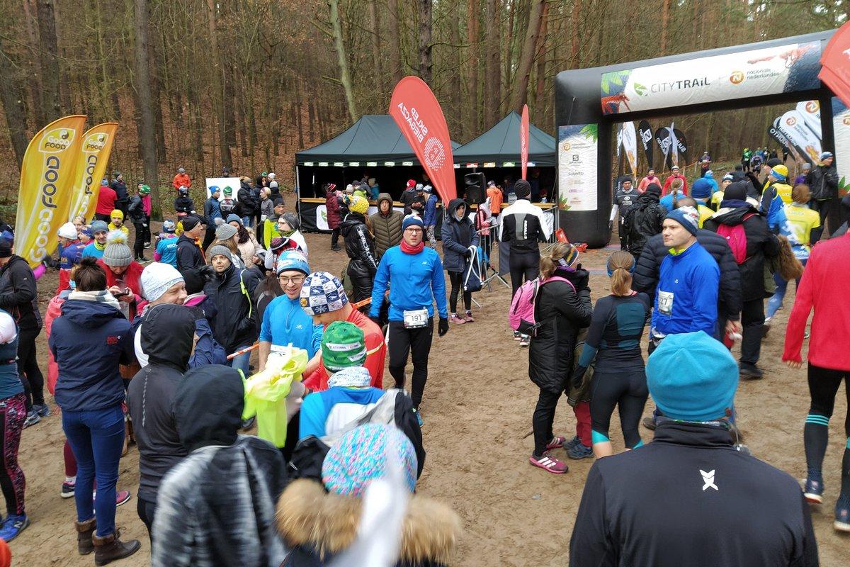 Uczestnicy biegu City Trail.